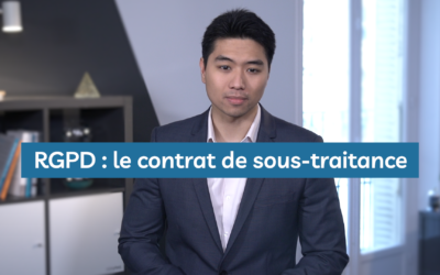Comment rédiger un contrat de sous-traitance RGPD ?