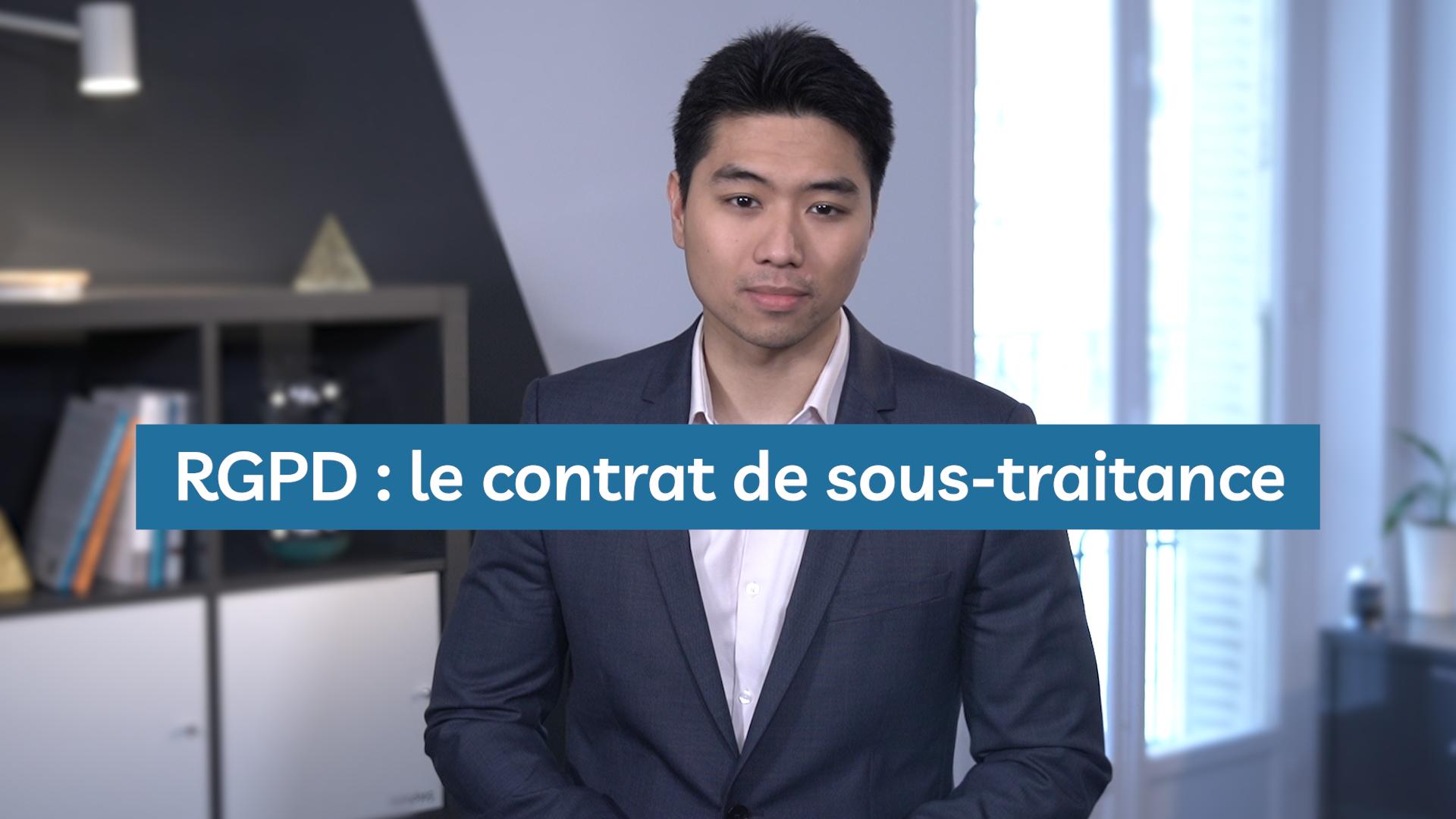 RGPD : Comment rédiger un contrat avec un sous-traitant ?